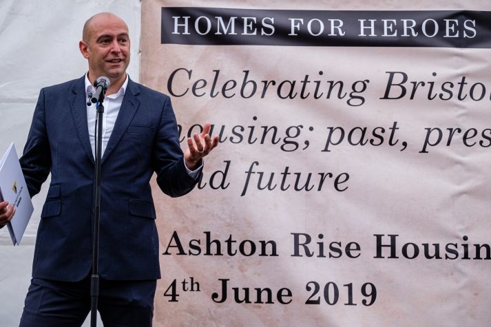 "Ashton Rise - ""Homes for Heroes"""
