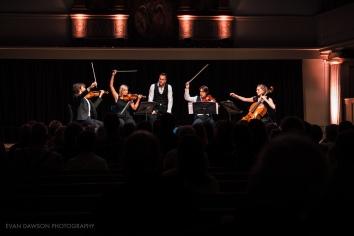 Jon Boden with the Sacconi Quartet