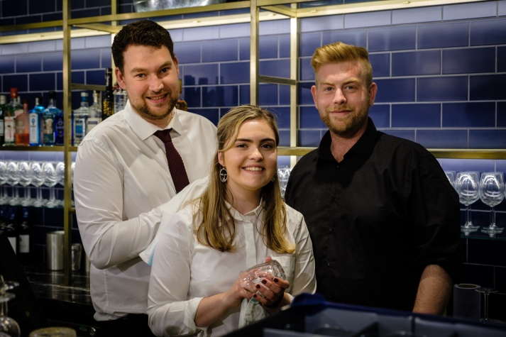 Avon Gorge Hotel - kitchen staff